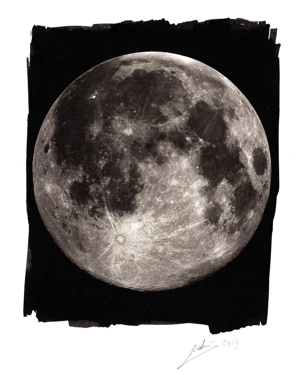 Luna Piena al Platino e Palladio