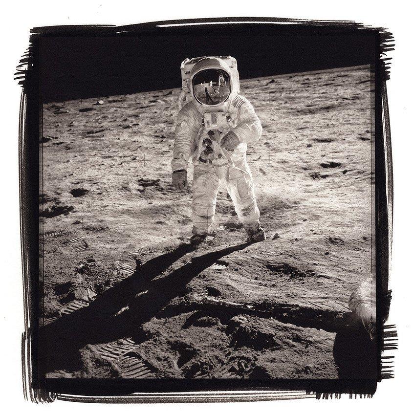 Platino e Palladio EVA Apollo 11